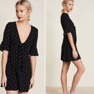 NEW Free People All Yours Polka Dot Mini Dress